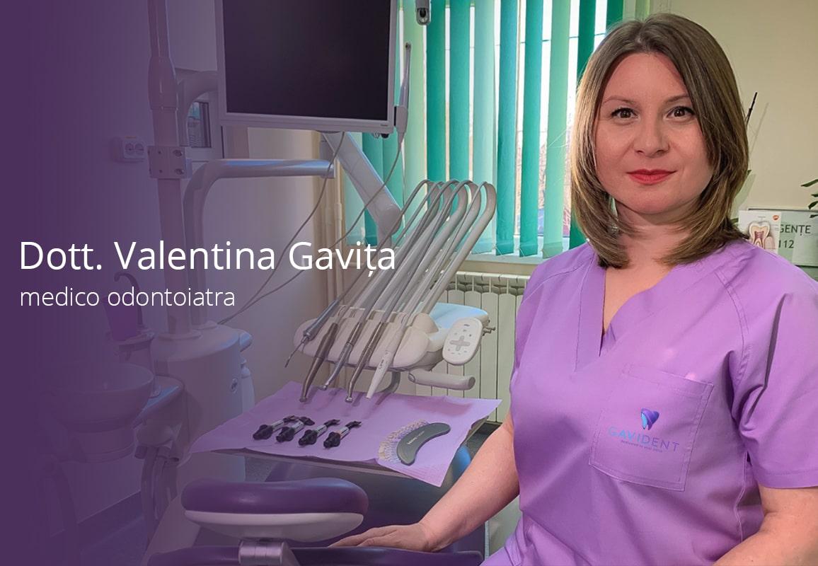 medico odontoiatra dott valentina gavita